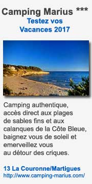 Camping Marius à Martigues