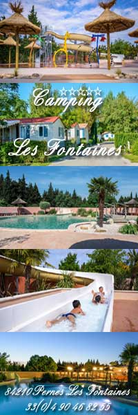Camping Les Fontaines, 84 Vaucluse